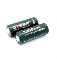 Soshine 3200mah LiFePO4 (с защитой)